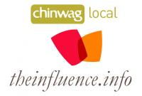 TheInfluence.info in partnership with Chinwag logo